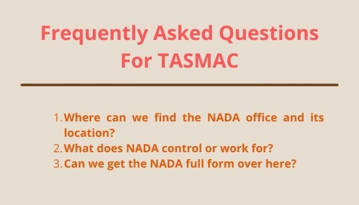 nada full form and frequently asked questions