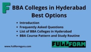 BBA Colleges in Hyderabad Best Options