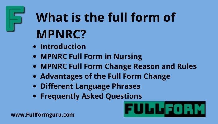 mpnrc full form and mpnrc expired domain details